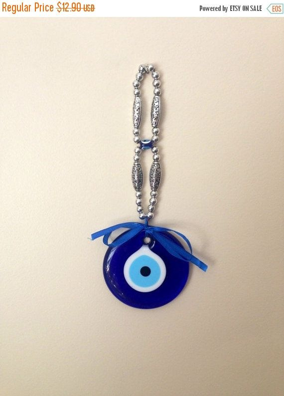 ON SALE 25% OFF Evil eye wall hanging Evil by CreativeShopIdeas