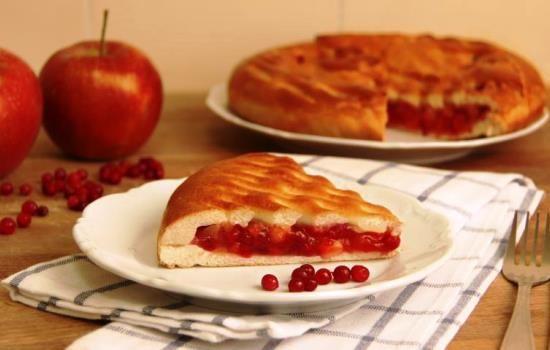 Рецепты пирожков с яблоками и брусникой, секреты выбора ингредиентов