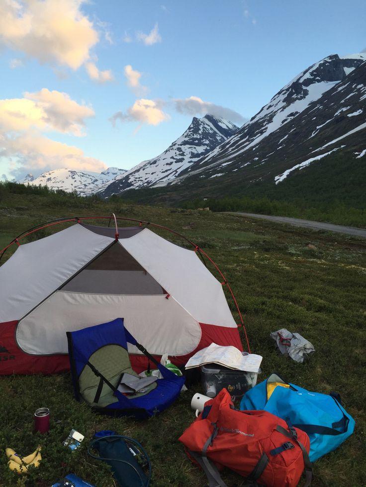 På telttur med barn - slik gjør dere det