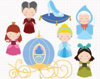 Uso de Disney inspirado dormir belleza CLIP Artes por Digicute