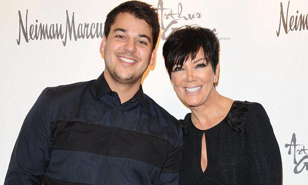 Rob Kardashian calls Kris Jenner 'beautiful' on her 60th birthday