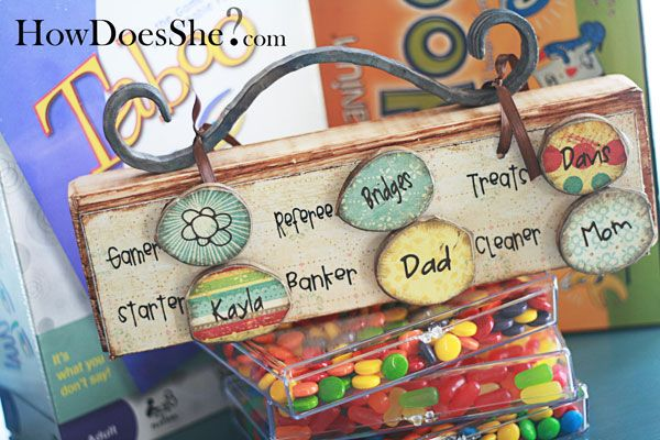Family Fun Game Night Board | How Does She...