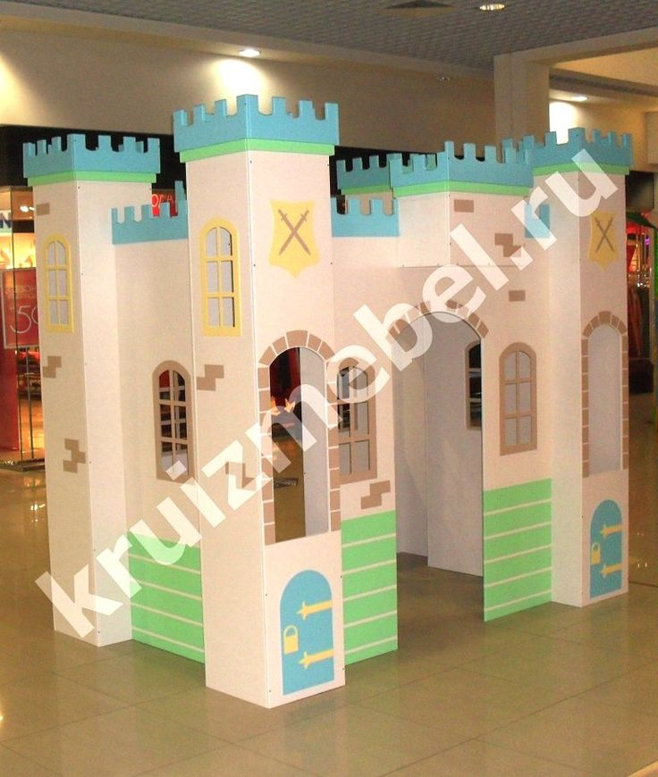 Летний домик, детская кровать в виде домика на Babymebelspb.com