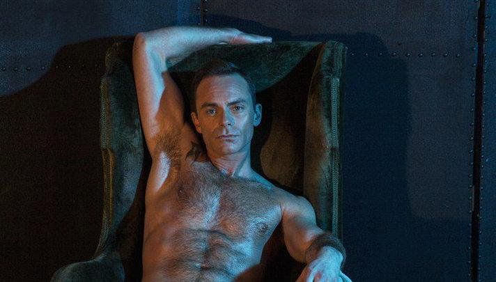 "Attitude on Twitter: ""Here's Corrie's gay vicar @Dan_Brocklebank in our Naked…"