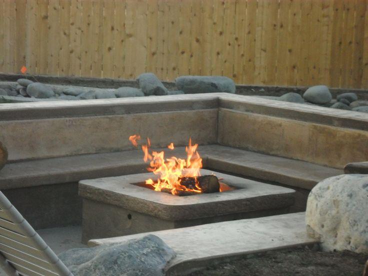 51 awesome diy fire pit ideas - Versunkene Feuerstellen Ideen