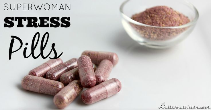 Superwoman Stress Pills for Stress Relief: All-natural nutrition help when you need it most!
