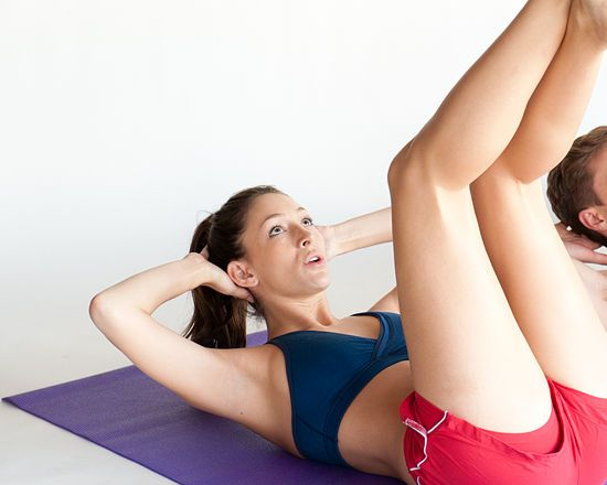 3 Ways to Do Vertical Leg Crunches - wikiHow