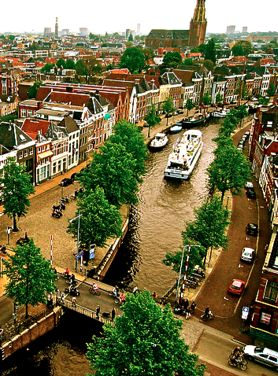 Groningen - Netherlands. My husband helped me fall in love with this city.