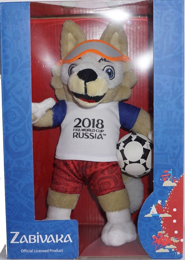 2018 Fifa World Cup Russia Plush Mascot Zabivaka 24 Cm In Box Brand New World Cup Fifa World Cup Cup