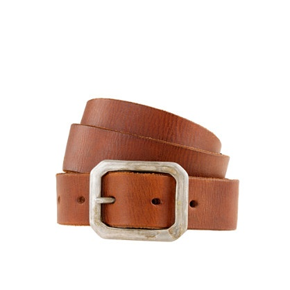 Wallace & Barnes distressed leather belt ($88.00)