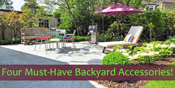 Four Must-Have #Backyard Accessories! #Landscaping #Yard #Summer yardproduct.com