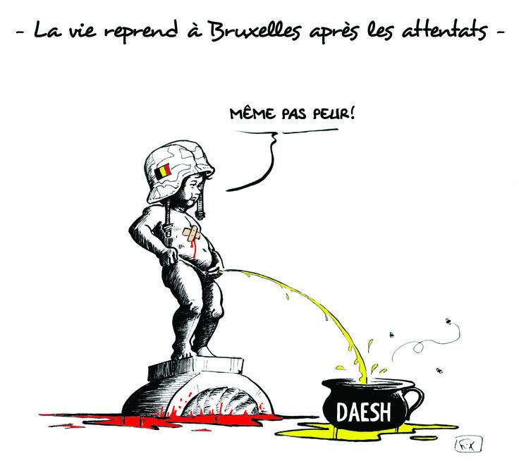 La vie reprend à #Bruxelles après les #attentats