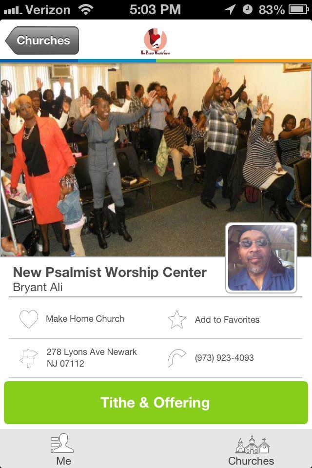 New Psalmist Worship Center in Newark, NJ Church news