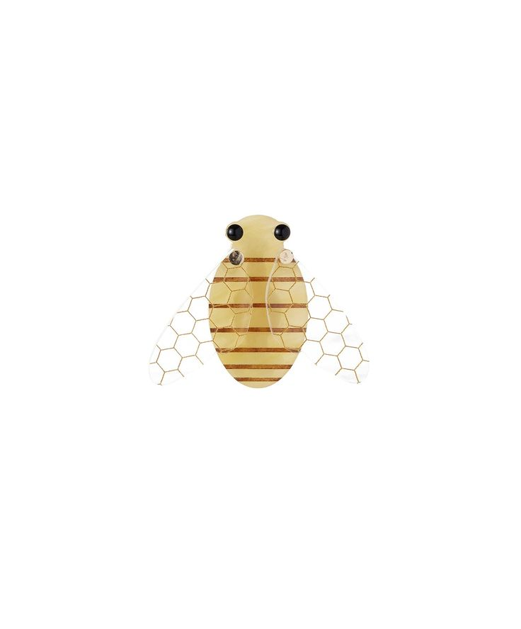 Honey Bee Brooch, £35: http://www.tattydevine.com/honey-bee-brooch