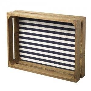 caja-bandeja-de-madera-fondo-nautico-rayas-azul-marino-beige