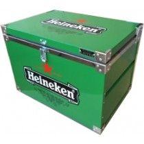 Caixa Térmica Heineken - 50 Litros com capacidade para 24 garrafas