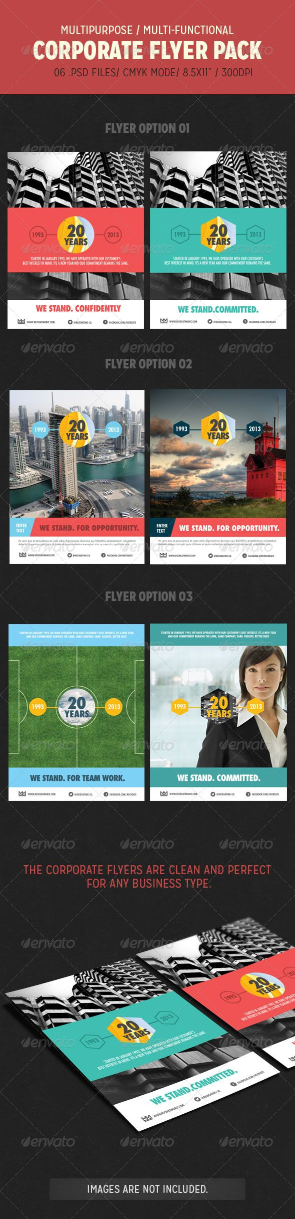 Corporate Flyer Pack  #GraphicRiver