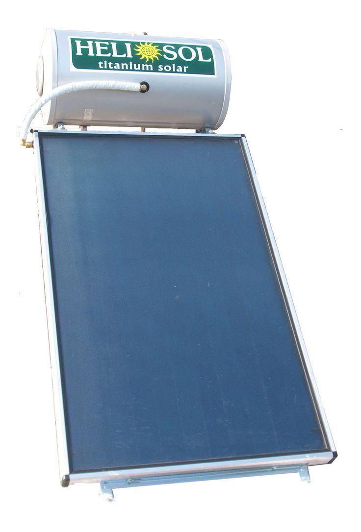Ηλιακός θερμοσίφωνας με επιλεκτικό συλλέκτη HelioSol