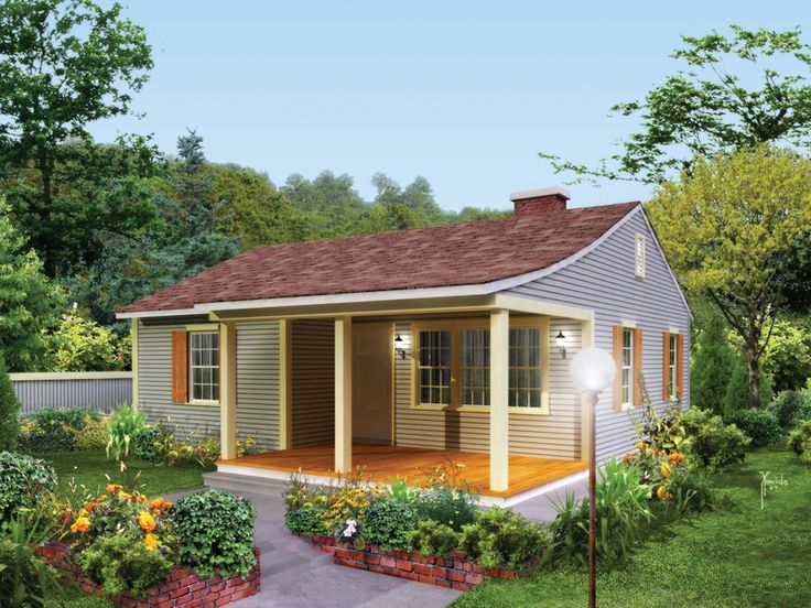 120 best small home plans images on pinterest | house plans and