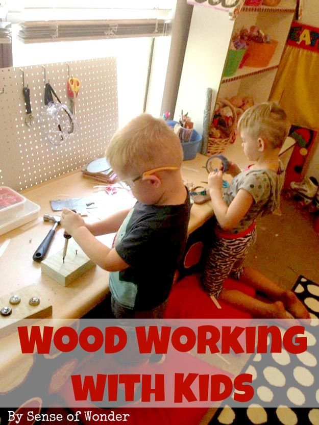 Woodworking with Kids and some great projects to try!