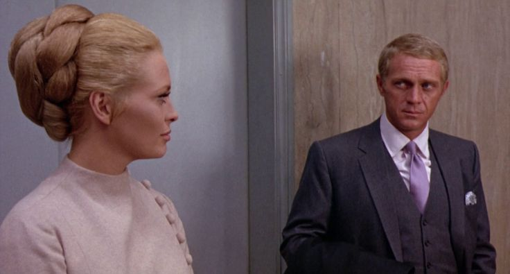 A most stylish film: The Thomas Crown Affair starring Faye Dunaway and Steve McQueen.