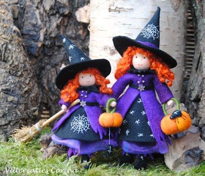 Adorable Halloween witches!