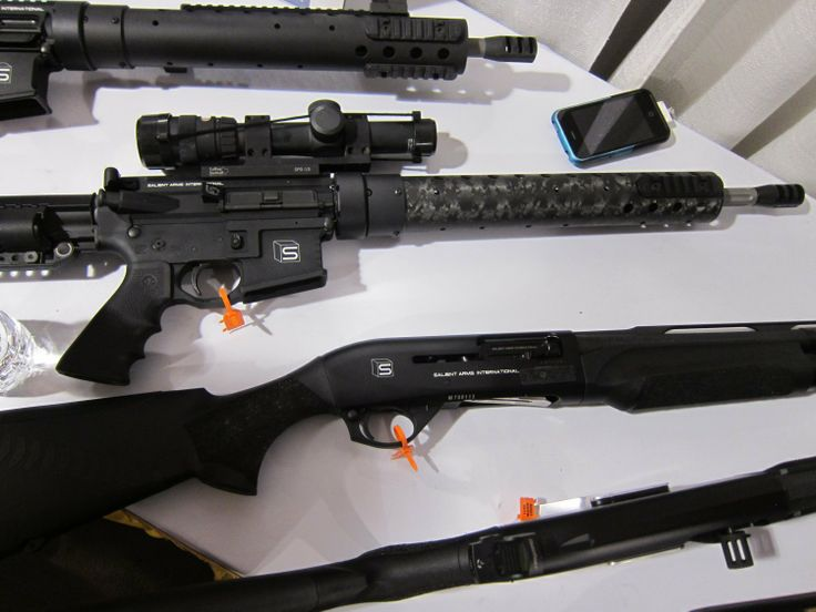Salient Arms International Custom AR 15 Rifles and Benelli M2 Super 90 Shotguns 1 Salient Arms International (SAI) Custom Pistols, Rifles, and Shotguns for Competition and Carry Displayed at SHOT Show 2011