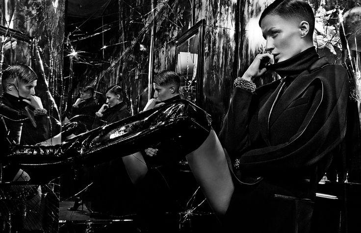 Balenciaga FALL WINTER 2014 Campaign   Image #10   Photographer: Steven Klein   Model: Gisele Bündchen   www.balenciaga.com