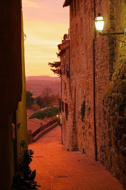 Sunset stroll ~ Todi, Perugia, Umbria, Italy