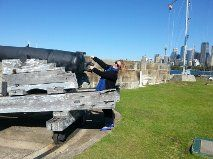 Paula thought a cannon salute was in order.
