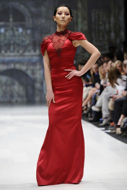 Toronto Fashion Week: Pavoni shows off gem of a collection