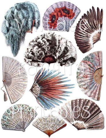 indian hand fan clipart. a pretty french ephemera image of lacy victorian era hand fan. indian fan clipart