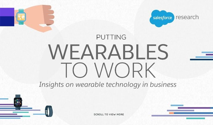 Putting Wearables to Work