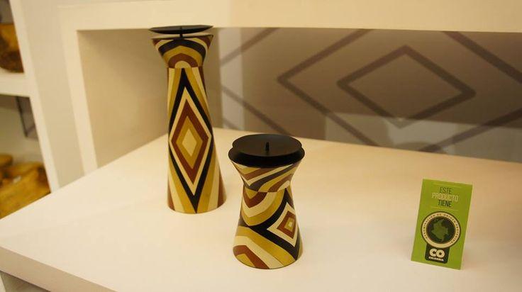 Piezas artesanales Laboratorios de Diseño e Innovación Sur Occidente.