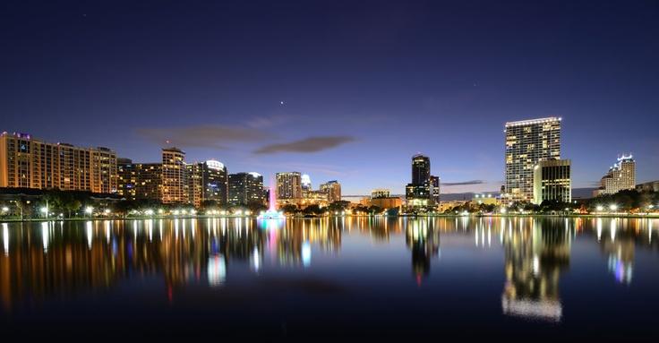 ResorTime.com's Photo of the Day! The Orlando, FL Skyline