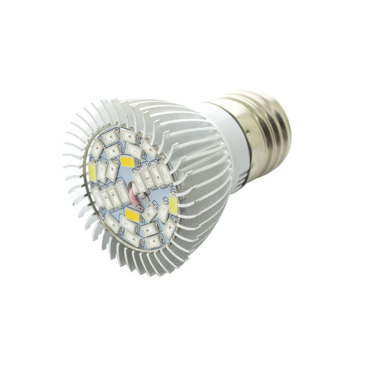 Dipimpin Tumbuh Cahaya Spektrum Penuh Dipimpin Tanaman Lampu 28 W E27 AC85-265V 15Red + 7 Biru + 4 Putih + 1UV + 1IR Hidroponik Rumah Kaca Dalam Ruangan Tumbuh Box