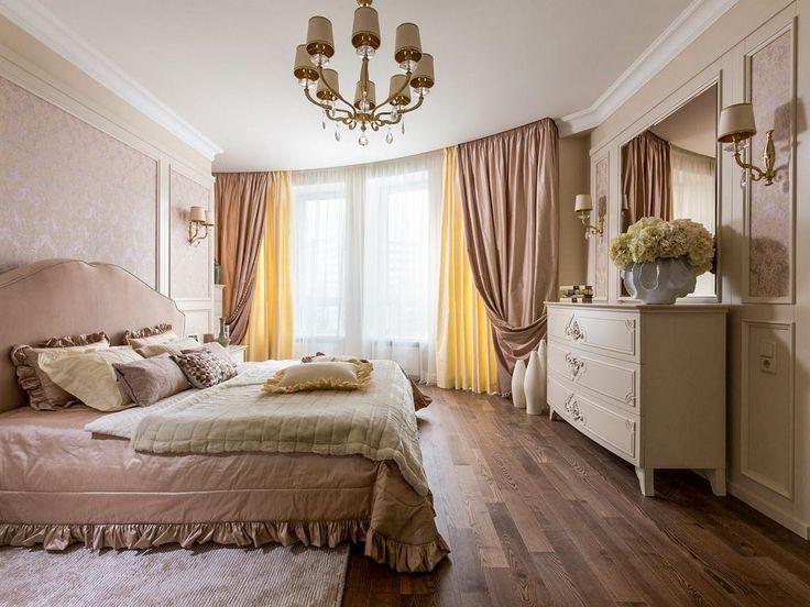 Шторы для спальни.  Спальня является таким местом, где хозяева расслабляются, отдыхают после тяжелых трудовых будней, а также набираются сил. А если дизайн помещения подобран грамотно, то он будет только способствовать отдыху и релаксу. #интерьер #дизайн #шторы #пошив_штор #дизайн_штор
