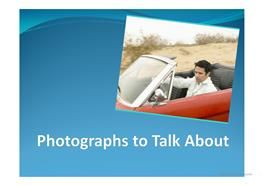 Photographs to Talk About PPT
