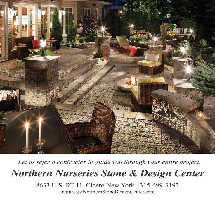 Nice Outdoor Patio Ideas | Northern Nurseries Stone Design Center Lighting  Landscape