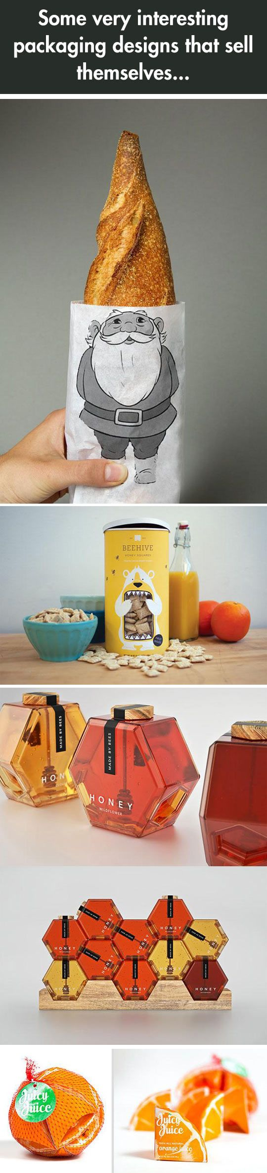 Amazing ideas...and effective as well. #packaging