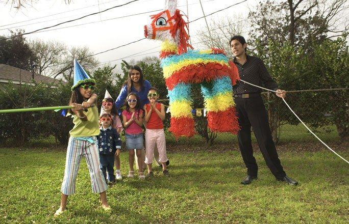 Geburtstagsspiele: Piñata