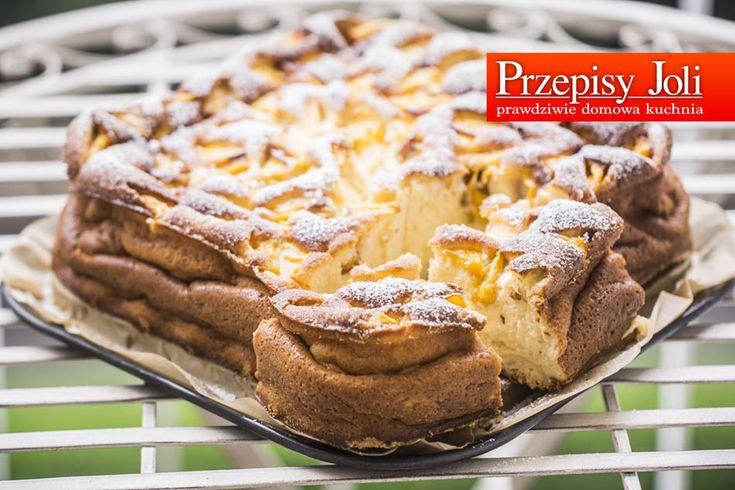 BRZOSKWINIOWY SERNIK NA JOGURTACH GRECKICH - najlepsze ciasto do wieczornej…