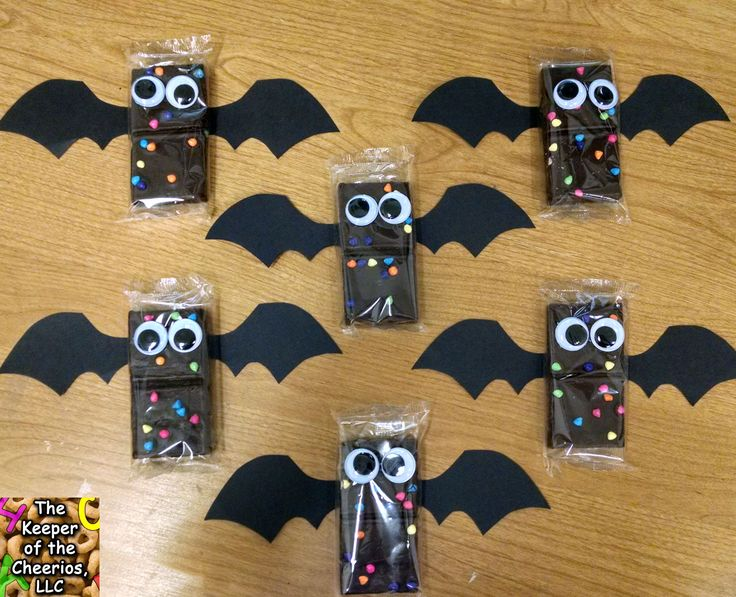 bat-brownies. Cute for school party.