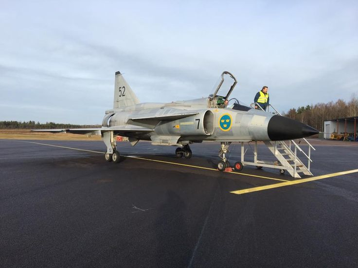 Royal Swedish Air force SAAB  AJS-37 Viggen (The Lightning bolt)