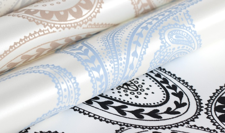 PAISLEY   PRINTS   ROLLER SHADES + VERTICAL SYSTEMS  ORDER FREE SAMPLES: http://www.theshadestore.com/sample-department/vertical-systems/prints/paisley    #InteriorDesign #Design #Prints #Windows #Shades #Decor #HomeDecor