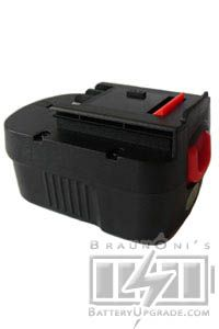 A12 battery, 1300mAh, NI-CD for a Black & Decker PS122 cordless drill
