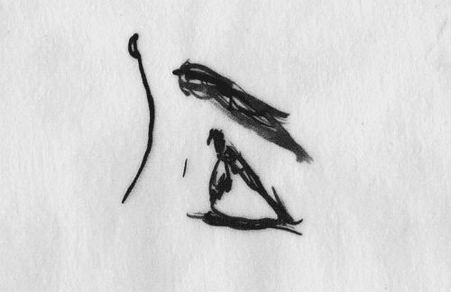 Hand Drawn Rotoscoping Gifs and Other Animation Experiments by Matthias Brown gifs animation