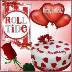 18 best Alabama birthday cards images on Pinterest Alabama crimson