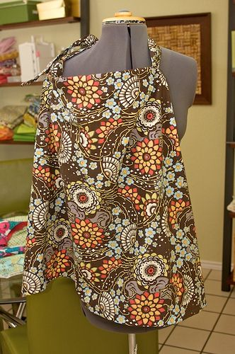 sew nursing cover tutorial