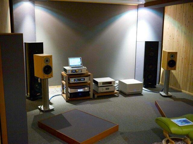 Listening room@computer audiophile